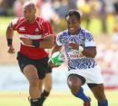 Uale Mai of Samoa makes a break