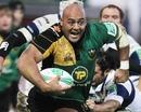 Northampton prop Soane Tonga'uiha powers forward