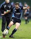 Glasgow's Dan Parks slots a kick