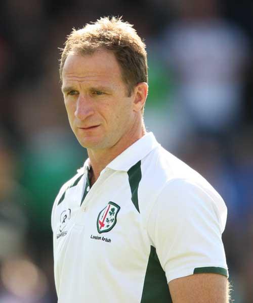 London Irish attack coach Mike Catt