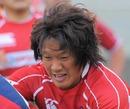 Japan flanker Takashi Kikutani