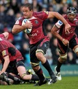 Cardiff Blues No.8 Xavier Rush on the charge