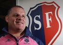 Ewen McKenzie, Stade Francais coach, midshot