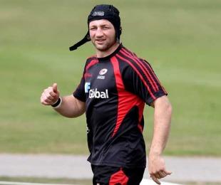 Saracens captain Steve Borthwick prepares for his return to action
