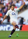 England's Charlie Hodgson slots a kick