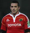 Munster flanker Alan Quinlan