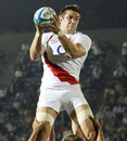 Graham Kitchener in action during the IRB Junior World Championship semi final match between England and South Africa