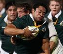 Australian Barbarians hooker Tatafu Polota-Nau is tackled