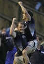Delight for Scotland's Alastair Kellock and Rory Lawson