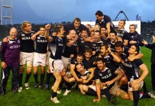 Scotland celebrate a series victory Argentina, Argentina v Scotland, Estadio Jose Maria Minella, Mar del Plata, Argentina