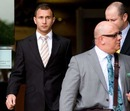Australia fly-half Quade Cooper leaves court