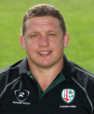 London Irish Head Coach Toby Booth