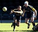 Australia scrum-half Will Genia fires a pass