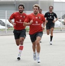 Toulouse's Vincent Clerc and Clement Poitrenaud step up their pre-season