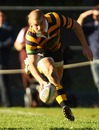 Australia wing Drew Mitchell scores a try while in action for Balmain