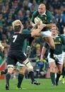 Springbok prop Gurthro Steenkamp rises highest