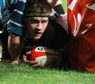 Craig Burden adds to the Griquas load with a fourth try for the Sharks