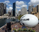 A Rugby World Cup promotion takes shape in Sydney Harbour