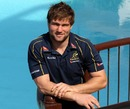 Australia's Ben McCalman soaks up the Durban sunshine