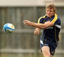 Australia wing Lachie Turner passes