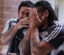 All Blacks Piri Weepu and Ma'a Nonu share a laugh