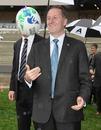 New Zealand Prime Minister John Key pictured at Eden Park