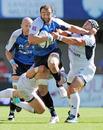 Montpellier's Mamuka Gorgodze charges forward