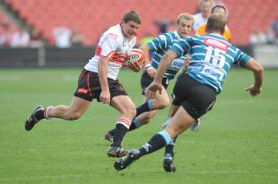 The Lions' Jannie Boshoff makes a break, Golden Lions v Griquas, Currie Cup, Coca Cola Park, Johannesburg, South Africa, September 11, 2010