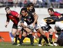 Wellington's Hosea Gear fires a pass