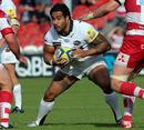 Leeds Carnegie's Alfie To'oala looks for a gap