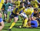 Clermont's Morgan Parra spots a gap