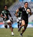 New Zealand's Hosea Gear races away