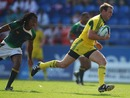 Australia's James Stannard breaks away