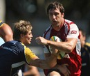 Van Humphries evades James O'Connor