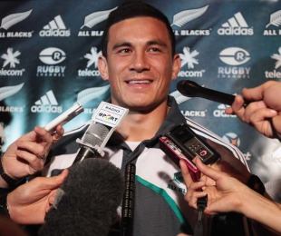 Newcomer Sonny Bill Williams is the centre of attention, New Zealand squad announcement, Auckland, New Zealand, October 17, 2010