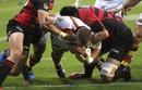 Waikato's Toby Smith powers over to score