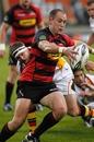 Canterbury's Willie Heinz prepares to kick