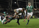 Juan Smith's momentum is too much for Rob Kearney