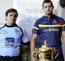 Uruguay's Carlos Arboleya and Romania's Socol Sorin
