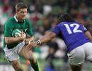 Ronan O'Gara braces for the impact