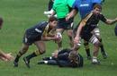 Australia scrum-half Luke Burgess snipes around the fringes