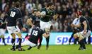 South Africa's Ryan Kankowski takes on the Scotland defence