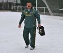 Springboks coach Peter de Villiers enjoys the snow