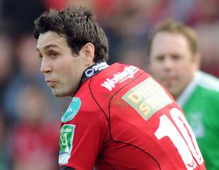 Scarlets fly-half Stephen Jones, Scarlets v Perpignan, Heineken Cup, Parc y Scarlets, Llanelli, October 9, 2010