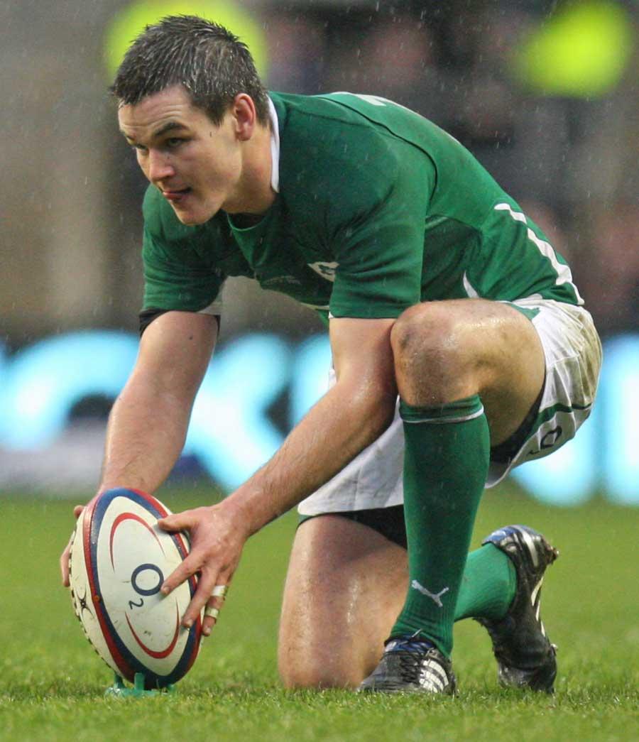 Ireland's Jonathan Sexton lines up a kick   Rugby Union   Photo   ESPN ...