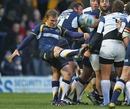 Leeds' Warren Fury clears his lines