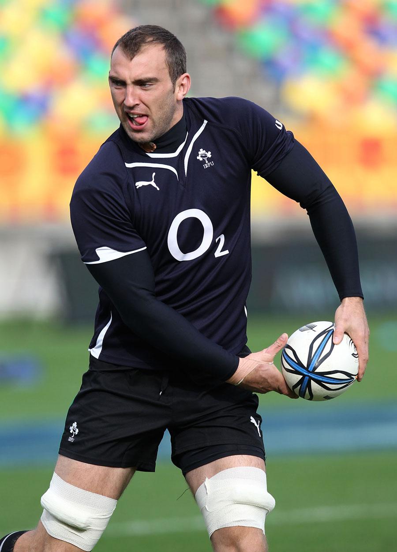 Ireland's John Muldoon in action during the Ireland Captain's Run