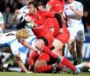Toulouse's Maxime Medard spots a gap