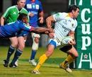 Clermont Auvergne's Gonzalo Canale exploits a gap to score
