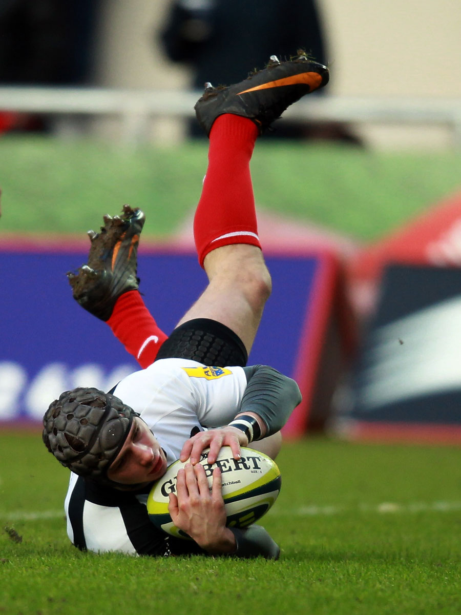 Ben Ransom touches down for Saracens